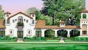 Hacienda Floor Plans Spanish House Plans U0026 European Style Home Designs By Thd