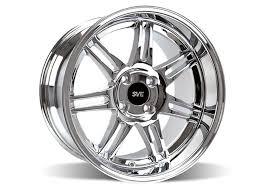 sve wheels mustang ford mustang sve dish anniversary wheel 17x10 chrome 79 93