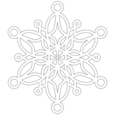 snowflakes to color free coloring pages on art coloring pages