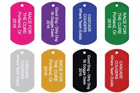 laser engraved dog tags gotags custom and event tags