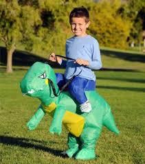 Centaur Halloween Costume Inflatable Dinosaur Costume Fan Operated Kids Size Halloween Costume