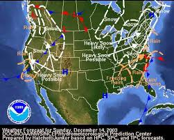 national weather forecast map weather