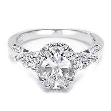 tacori dantela tacori dantela 2624ov halo pave engagement ring