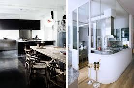 cuisine ouverte sur salle à manger cuisine ouverte avec table a manger