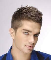 simple hair style of boys cool and simple male hairstyles pic