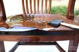 how to refinish a wood table how to refinish a highchair o the wise baby refinishing wood chairs