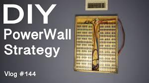 diy tesla powerwall diy tesla powerwall design strategy vlog 144 youtube