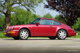 1990 porsche 911 red porsche 911 964 carrera 4 1990 welcome to classicargarage