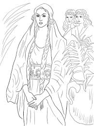 esther queen coloring free printable coloring pages