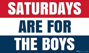 Custom Car Flag Saturdays Are For The Boys Flag National Cubs Polyester Flag Usa