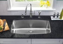 modern single basin stainless steel kitchen sink cool single