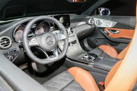 C63 Coupe Interior 2017 Mercedes Amg C63 Cabriolet Revealed At 2016 New York Auto Show