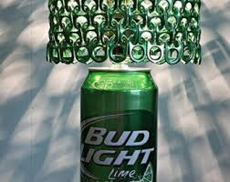 bud light in the can giant bud light beer can l with pull tab l shade the