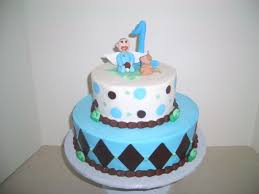 first baby boy birthday cakes pictures