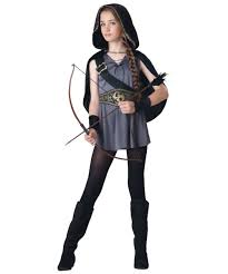 kids costumes hooded huntress kids costume costumes