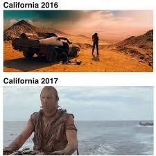 California Meme - california 2016 vs 2017 funny meme funny memes