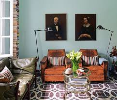 new trend old portraits of unfamiliar faces used as home decor