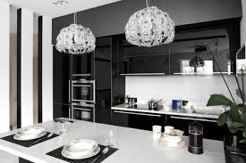 White Kitchen Pendant Lights by 34 Timelessly Elegant Black And White Kitchens Digsdigs