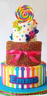 candyland birthday cake what a colorful cake for a birthday party cakes
