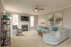 what a nice family room to cozy up in next to the fireplace the
