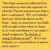 Blind Obedience To Authority Tradcatknight Whats Wrong With Vatican Ii
