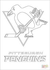pittsburgh penguins logo coloring free printable coloring pages