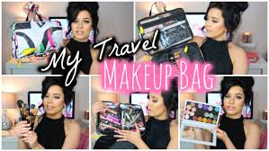 what u0027s in my travel makeup bag youtube