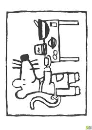 souris dans la cuisine coloriage mimi souris fait la cuisine dans la catégorie