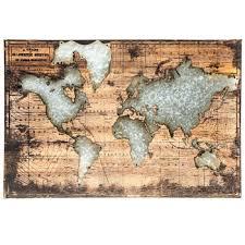 World Map Wood Wall Decor Hobby Lobby