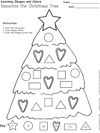 kindergarten math christmas worksheets koogra