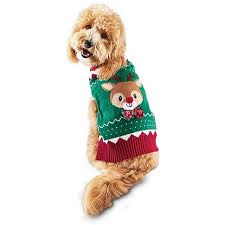 time for sleigh guide sweater petco