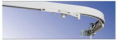 bastoni per tende a soffitto bastone per tenda binario scorritenda in alluminio bianco tiro
