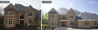 before and after front entryway westview companies design
