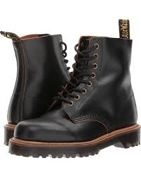 doc martens womens boots sale amazing deal dr martens pascal ii 8 eye boot black vintage