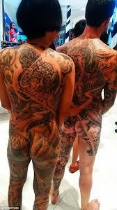 glory tattoo jakarta tattoo fans go naked in public for thai body art festival