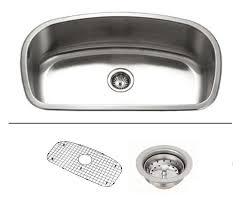 Stainless Steel Undermount Kitchen Sink by 32 Inch Stainless Steel Undermount Curved Single Bowl Kitchen Sink