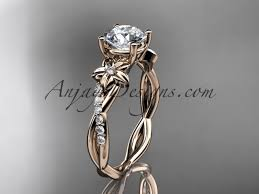 design engagement rings images Flower design engagement rings rose gold rings adlr388 jpg