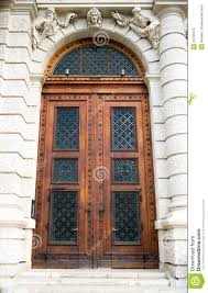 ancient wooden door design stock photography image 24735372