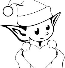 printable elf girl singular elves coloring pages 1451454225adult fantasy child for kids