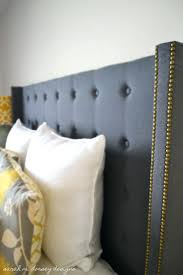 oil rubbed bronze headboard m designs headboard complete winged upholstered hempstead fabric