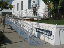 Wheelchair Ramp Handrails Handicap Ramps Modular Wheelchair Ramps Ada Ramps