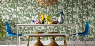 Dining Room Wallpaper Ideas Cool 10 Tropical Dining Room Ideas Design Decoration Of Dining