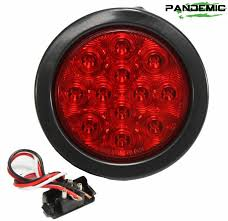 universal led tail lights universal 4 red or clear lense led tail light includes 1 light with