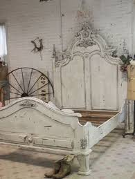 i want this bed painted cottage shabby grey king romance bed by
