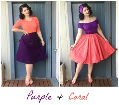 Pink Colour Combination Dresses by Colour Matching Inspiration Purple Miss Victory Violet
