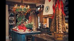 kitchen christmas decorating ideas country christmas decorations youtube