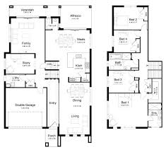 3 level split floor plans 3 level house plans quamoc com