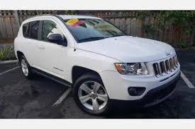 jeep compass white used white jeep compass for sale edmunds