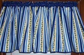 Blue And Yellow Kitchen Curtains Decorating Yellow And Blue Kitchen Curtains Blue And Yellow Kitchen