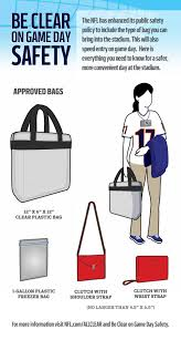 United Bag Policy by Chicago Bears Frequently Asked Questions